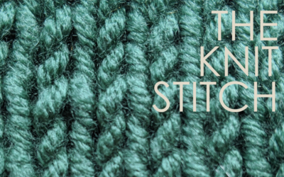 How to Knit: The Knit Stitch