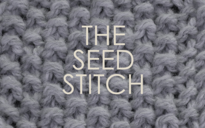 How to Knit: The Seed Stitch